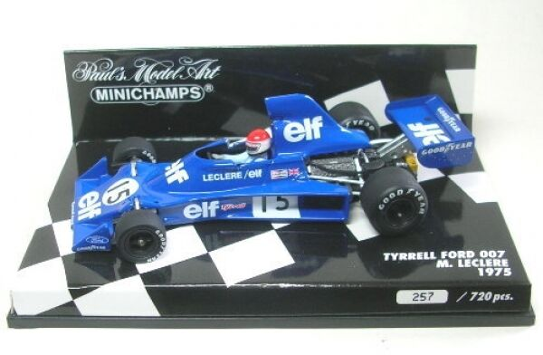 Tyrrell ford 007 No. 15 MICHEL LECLERE LECLERE LECLERE Formula 1 1975 1 43 fc7c55