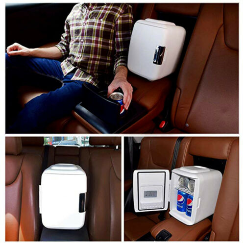 Mini 4L// 6 Portable Camping Freezer 3 Color Fridge Electric Cooler and Warmer