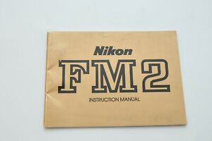 Nikon-FM2-Camera-Instruction-Manual-Gold-User-Guide-Booklet