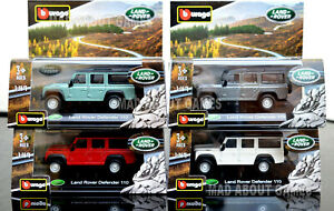 Land-Rover-Defender-110-1-47-Coche-Modelo-Coches-Die-Cast-Metal-En-Miniatura-Juguete-Modelos