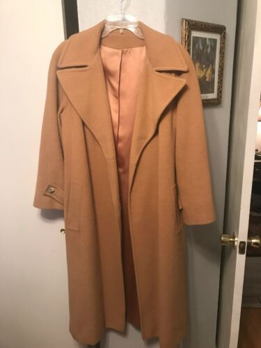 Neisteters Camel Hair Camel Color Coat 10