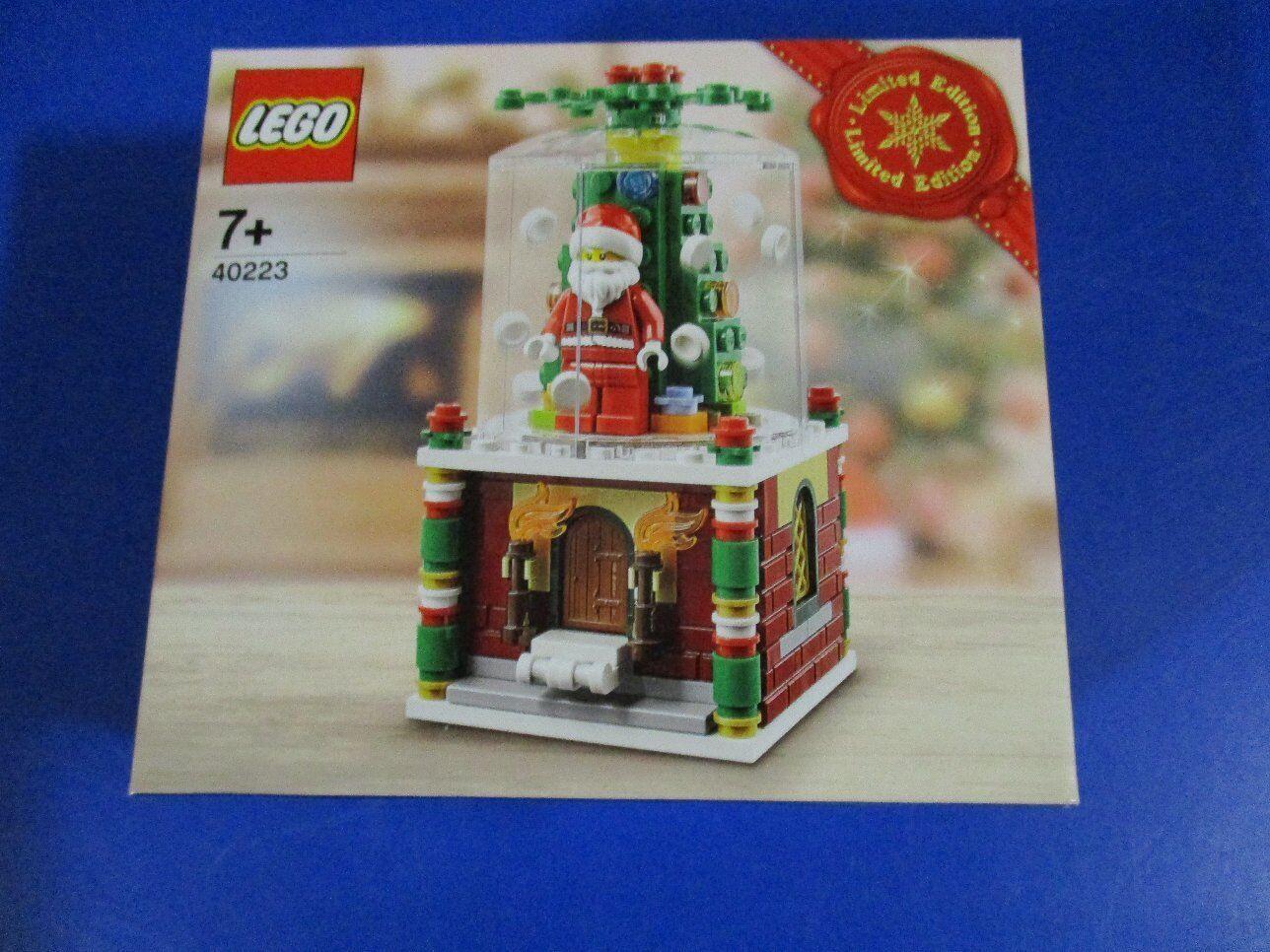 Lego 40223 Schneekugel Limitiertes Weihnachtsset Weihnachten NEU OVP