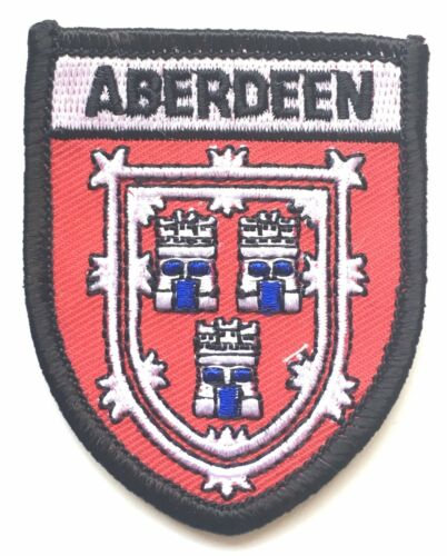 AO62A Aberdeen Scotland Embroidered Patch