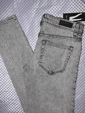 LIP SERVICE 4 Pocket Womens Jr Skinny Jeans Size Fit Jet Regukar Rise Slim Sz 3
