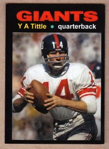 Y-A-Tittle-039-64-New-York-Giants-Monarch-Corona-Glory-Days-25-in-NM-cond