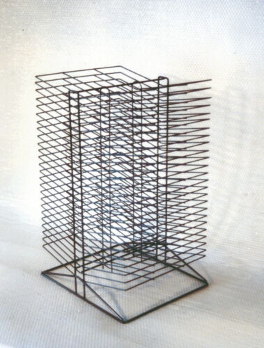 50 Shelves Sax All-Steel Double Sided Wire Drying Rack 17 x 20 x 30 Inches,
