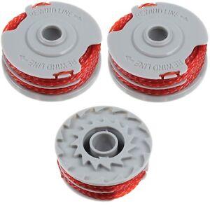 3-x-Taille-haie-debroussailleuse-bobine-amp-ligne-pour-Flymo-multi-bordure-250