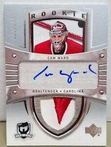 2005-06-The-Cup-Cam-Ward-Patch-Auto-RC-162-199