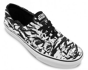 7003f918c8 VANS x STAR WARS Era Mens Shoes (NEW) Stormtrooper Camo - DARK SIDE ...