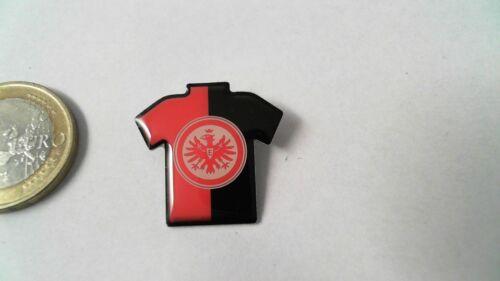 Eintracht Frankfurt SGE Logo Trikot Pin Badge rot schwarz