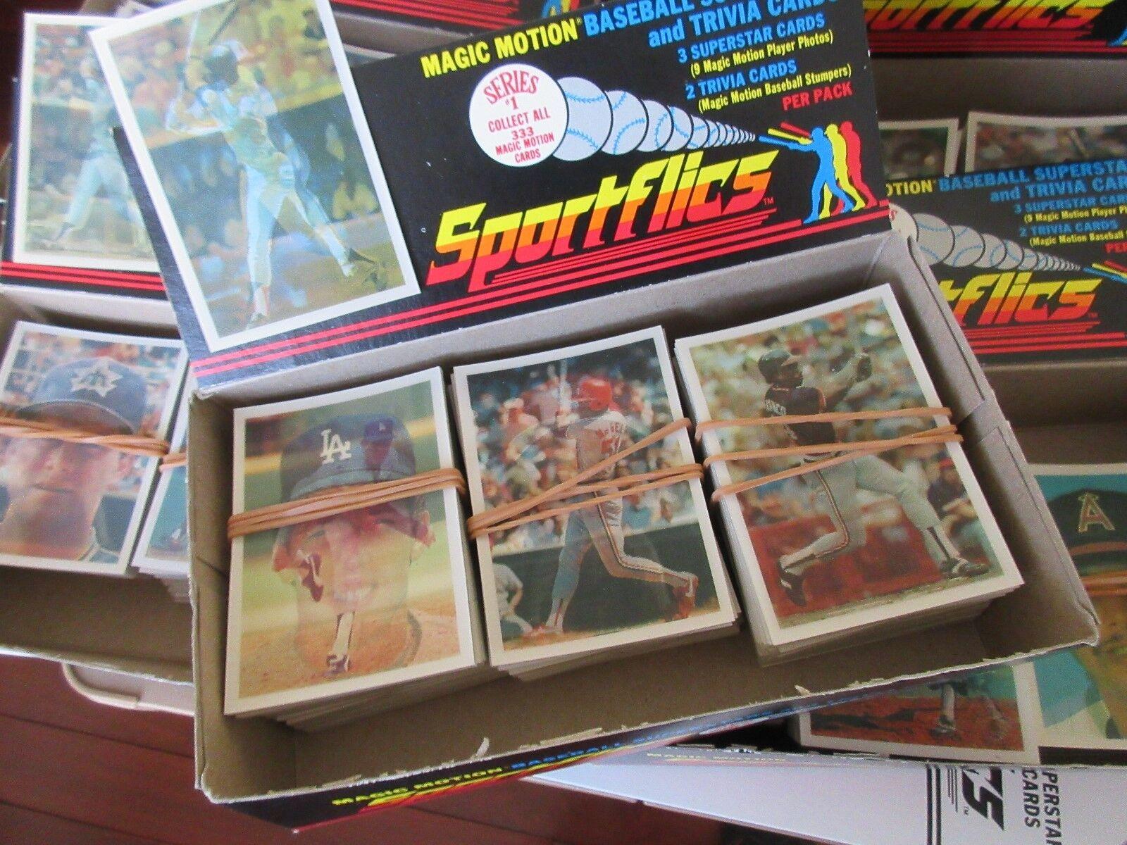 Sportflics , Magic Motion Baseball SUPERSTAR & Trivia