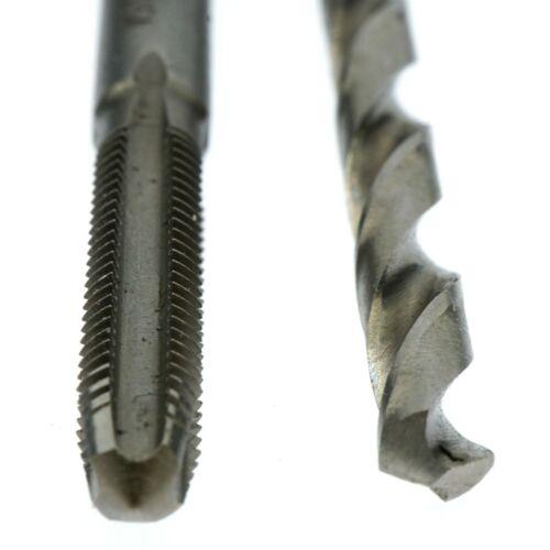 Irwin Hanson 80221 #10-32NF Plug Tap and #21 Drill Bit Set