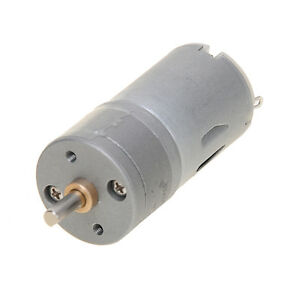 Details about 1000RPM 12V 0 18A High Torque Mini Electric DC Geared Motor  Metal Electric Motor