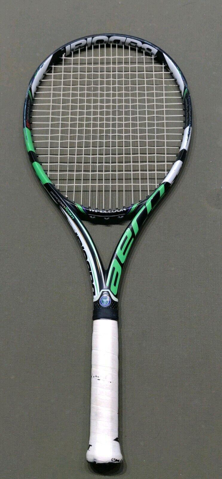 Babolat Aero Pro 2014 de unidad de equipo  Wimbledon 100sq 4 3 8 tenis NXT 50   25OFF  punto de venta barato