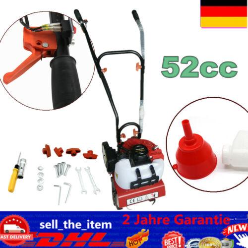 Benzin Motorhacke Bodenfräse 1E44F Gartenhacke 1600W Gartenfräse 52CC DE