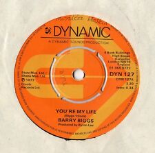 "Barry Biggs - You're My Life 7"" Single 1977"