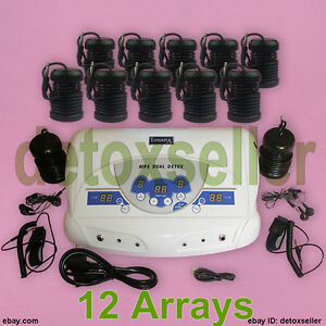 2019-Dual-User-LCD-Ionic-Detox-Foot-Bath-Spa-Cleanse-Kit-12-Arrays-CE-Approved