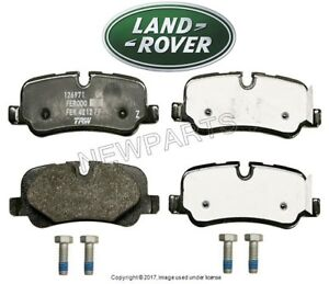 front fits also brake landrover parts range rover land pads genuine