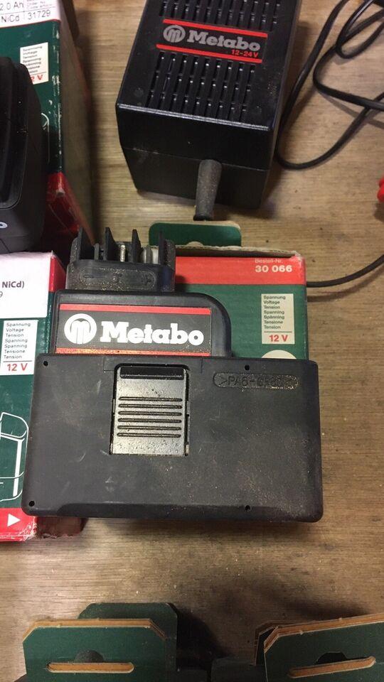 Akku-batteri, Metabo