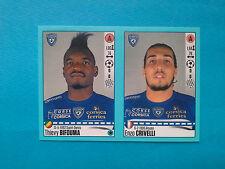 Panini Foot 2016-17 n. 82-83 Thievy Bifouma, Enzo Crivelli, Bastia