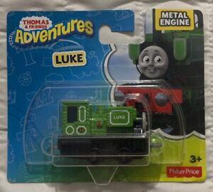 Fisher-Price-Thomas-amp-Friends-Adventures-Luke-Metal-Train-Engine-DXR87-NIP