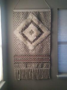 West Elm Sequin Shag Wall Tapestry Ebay