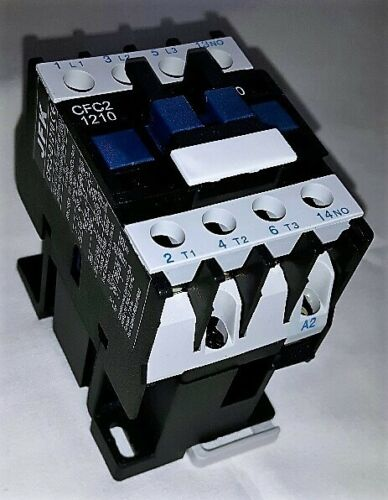ac contactor 12 amp 5.5kw 3 pole  240 volt coil with 1 N//O  auxiliary New!!!!