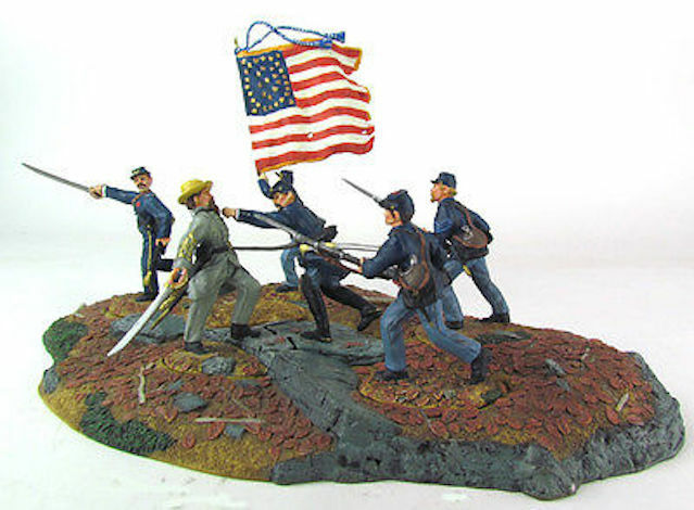 conte Don Troiani Lions från det Runda Top Civil War NY Pensionerad