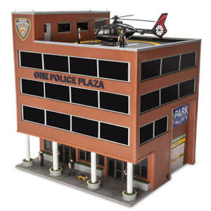 Image Is Loading Menards O Gauge One Police Plaza Building With