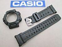 Genuine Casio G-shock Mudman G-9000 G-9000-3 Watch Band & Bezel Military Green
