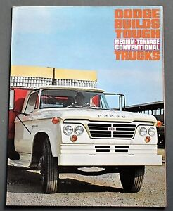 original 1963 dodge medium tonnage conventional truck brochure 8