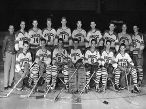 WHL-1958-59-Vancouver-Canucks-Team-Picture-Black-amp-White-Picture-8-X-10-Photo