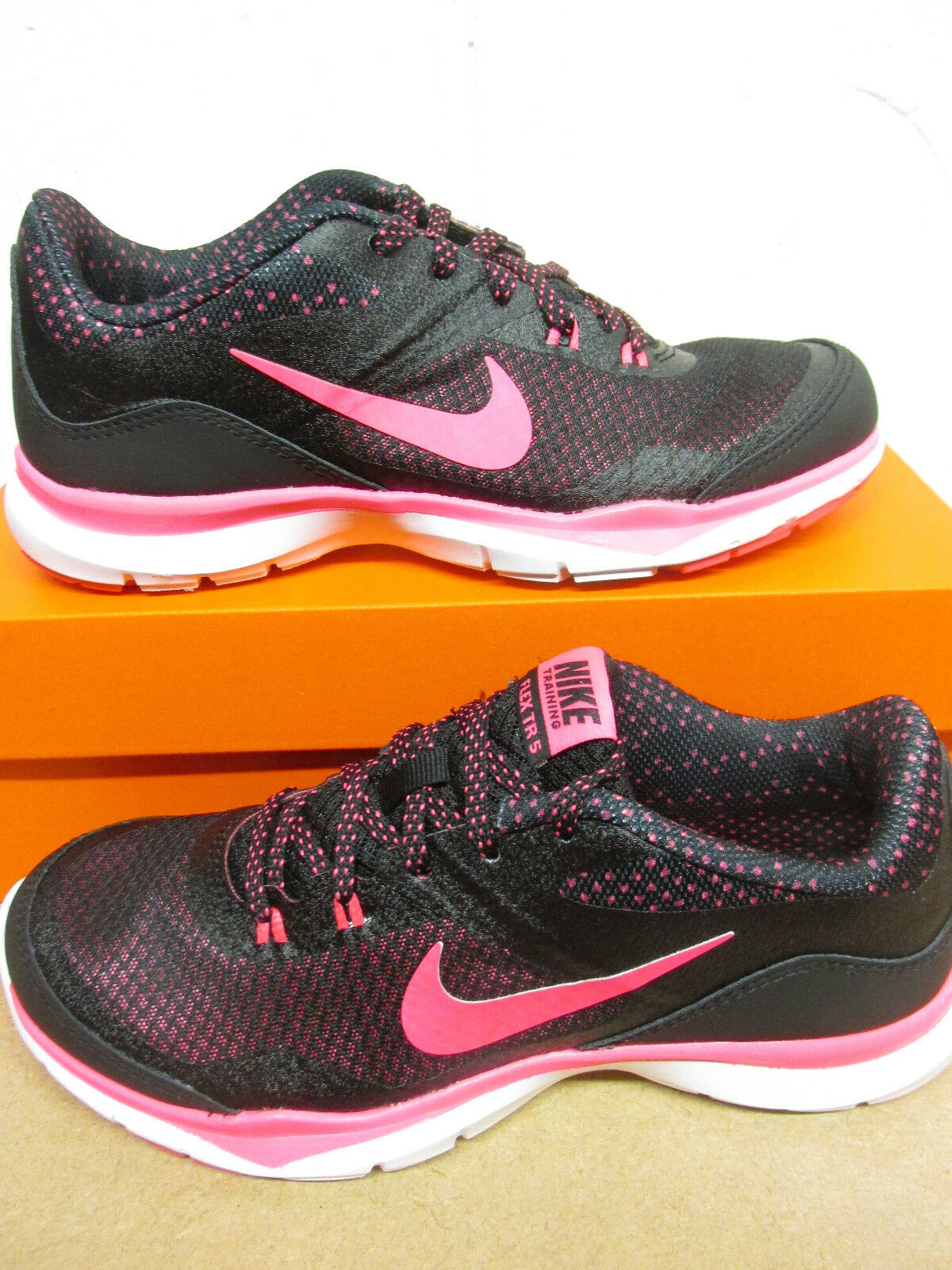 Nike Femmes Flexible Baskets 5 Imprimé Basket Course 749184 018 Baskets