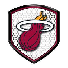 Miami Heat Reflector Auto Decal [NEW] NBA Car Emblem Shield Sticker CDG