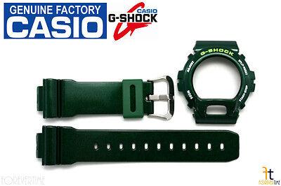 CASIO G-Shock DW-6900CC-3W Original Green Metallic (Glossy) BAND & BEZEL Combo