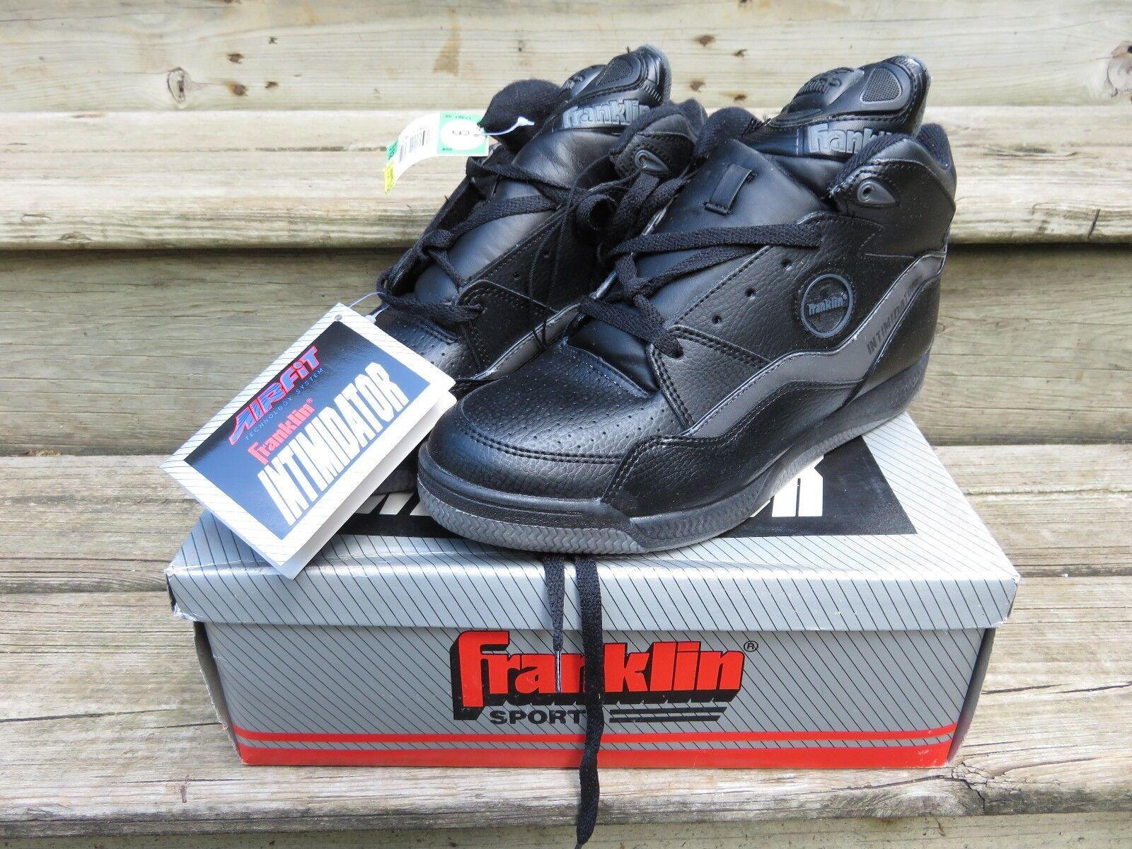 Vintage 80s Franklin Intimidator Jam Mens High Top shoes Sneakers Sz 9 pump