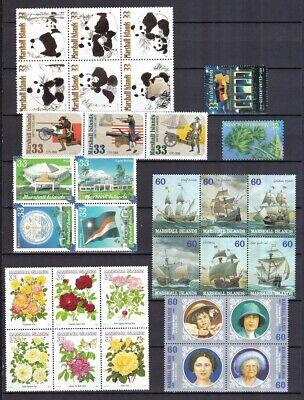 Vorsichtig Marshall Insel 2000 Postfrisch Jahrgang 3 Ausgaben Fehlen Siehe Bilder Die Neueste Mode