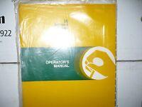 John Deere Operators Manual For 30 Integral Plows