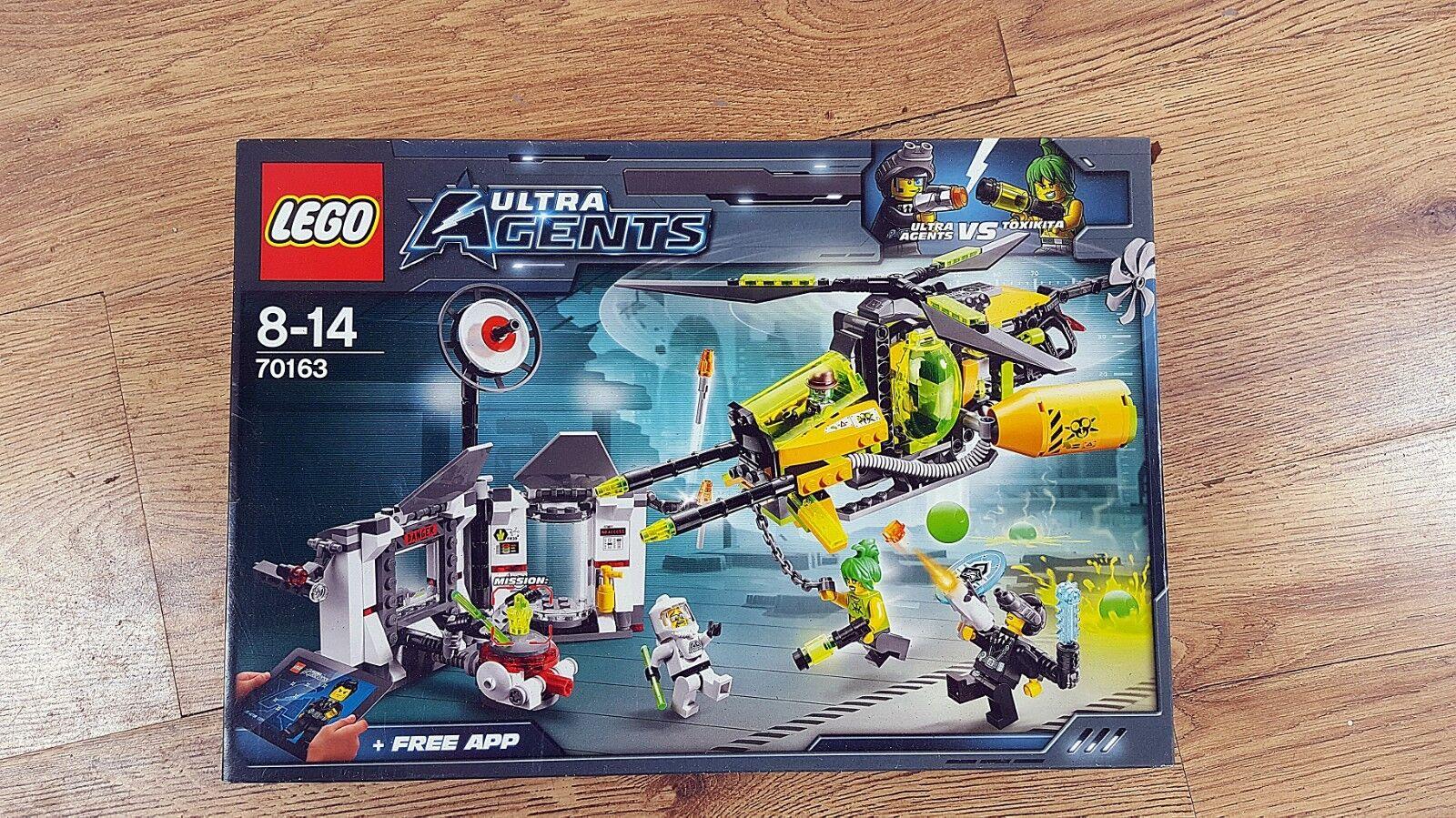 LEGO Ultra Agents 70163 Toxikita toxique du MELTDOWN (2014) | neuf, neuf, | non ouvert, génial! 2b0c09