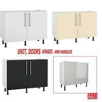 Kitchens Units with High Gloss Doors and Free Soft Close Hinges