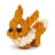 Authentic Kawada Pokemon Nanoblock Micro Building Blocks - Eevee