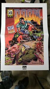 DOOM Eternal GameStop Promotional Poster *RARE* Misprint Original Release Date