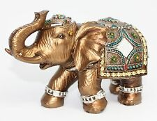 "Feng Shui 6"" Elegant Elephant Trunk Statue Lucky Figurine Gift & Home Decor"