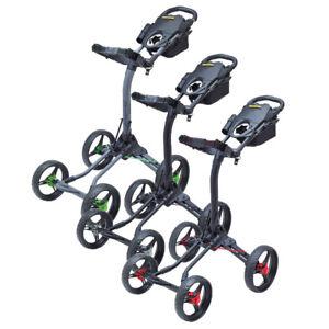 NEW-BagBoy-Golf-Quad-XL-Push-Pull-Cart-Bag-Boy-You-Choose-the-Color