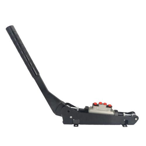 Racing Group N Tandem Hydraulic Handbrake 0.75 Bore Lever 4 Line Split Diagonal