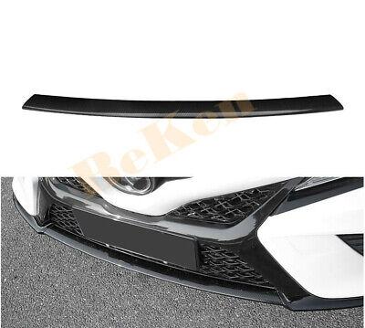 Carbon Fiber Rear Bumper Fog Reflector Grille FOR CAMRY 18 19 20 SE TRD XSE