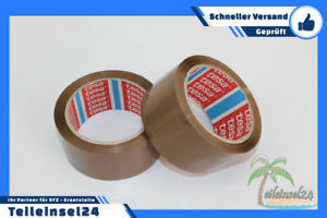 Tesa Packetband 64014 PP braun 66m x 50mm Klebeband karton Paketband 6//12//18//36
