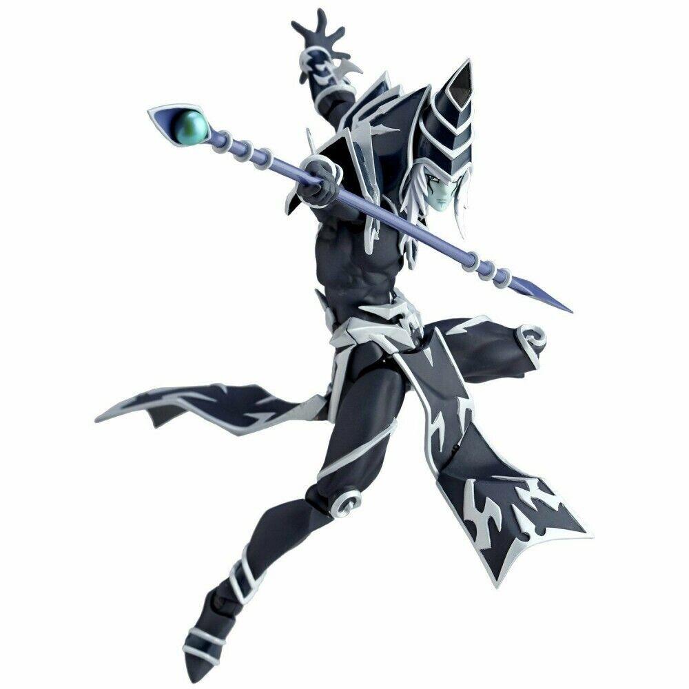 Yu-Gi-Oh RevoVulcanlog 010 Dark Magician actionfigur Revoltech svkonst Magician