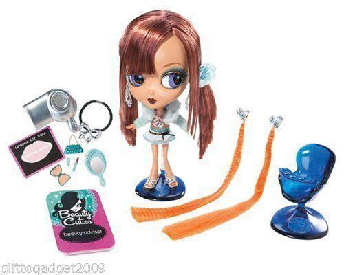 Beauty CUTIES BAMBOLA ROSSA  CAPELLI Mattel 2006 NUOVO e SIGILLATO  tutto in alta qualità e prezzo basso