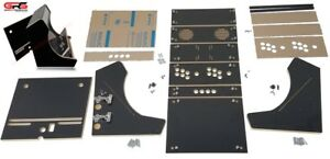 bartop arcade cabinet kit black easy assembly hardware plex rh ebay com bartop arcade cabinet kit uk bartop arcade cabinet plans